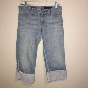 "AG Adriano Goldschmied ""The Shorty"" Capri SZ 28F"